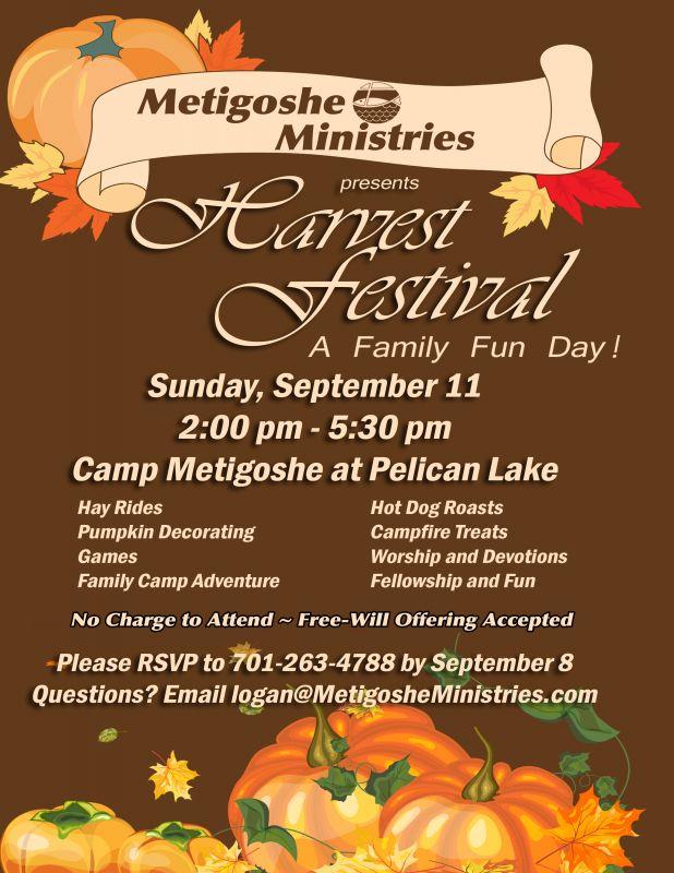 2016 Harvest Festival Poster
