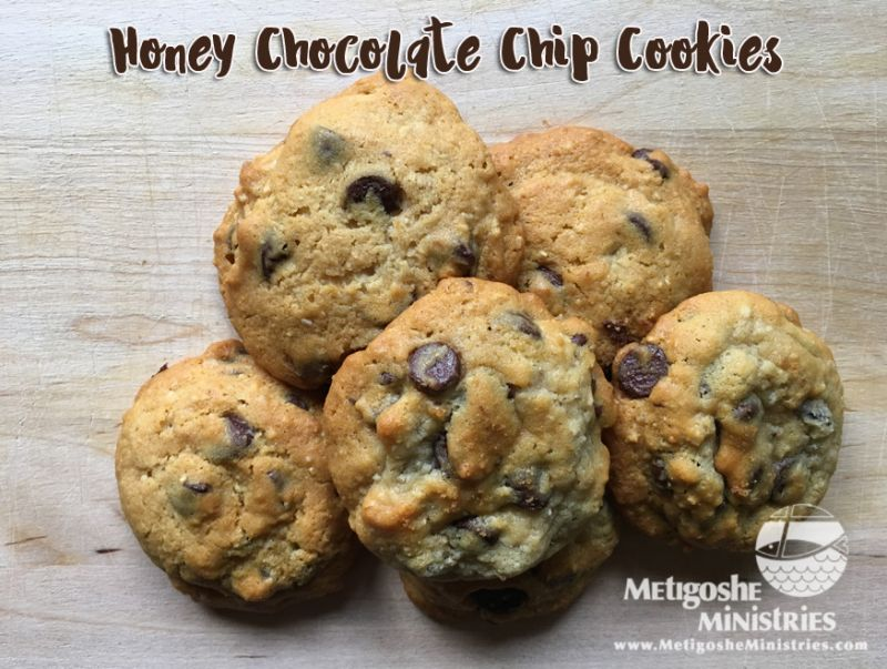 Honey Chocolate chip cookies for web